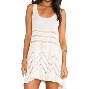 Free People Voile Lace Trapeze Slip Dress